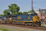 CSXT 3325 On CSX K 428 Southbound