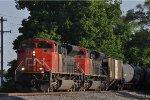 CN 8944 On CSX K 427 Eastbound