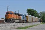 BNSF 3867 On CSX Q 217 Eastbound