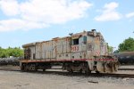 UPY 132 on its death bed at settagast yard near the Ley Road overpass