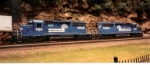 A Shot of CR SD40-2's