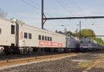 Passenger Train Meet - RBBX 60012 & SPAX 2403