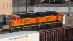 Newly Re-Painted BNSF SD75Is