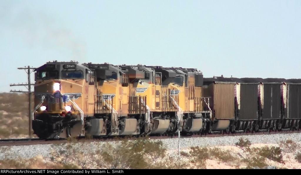 WB Unit Coal Frt at Erie NV -1a