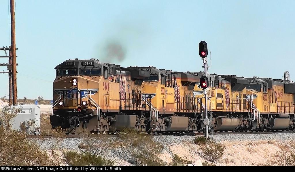 WB Unit Coal Frt at Erie NV -5