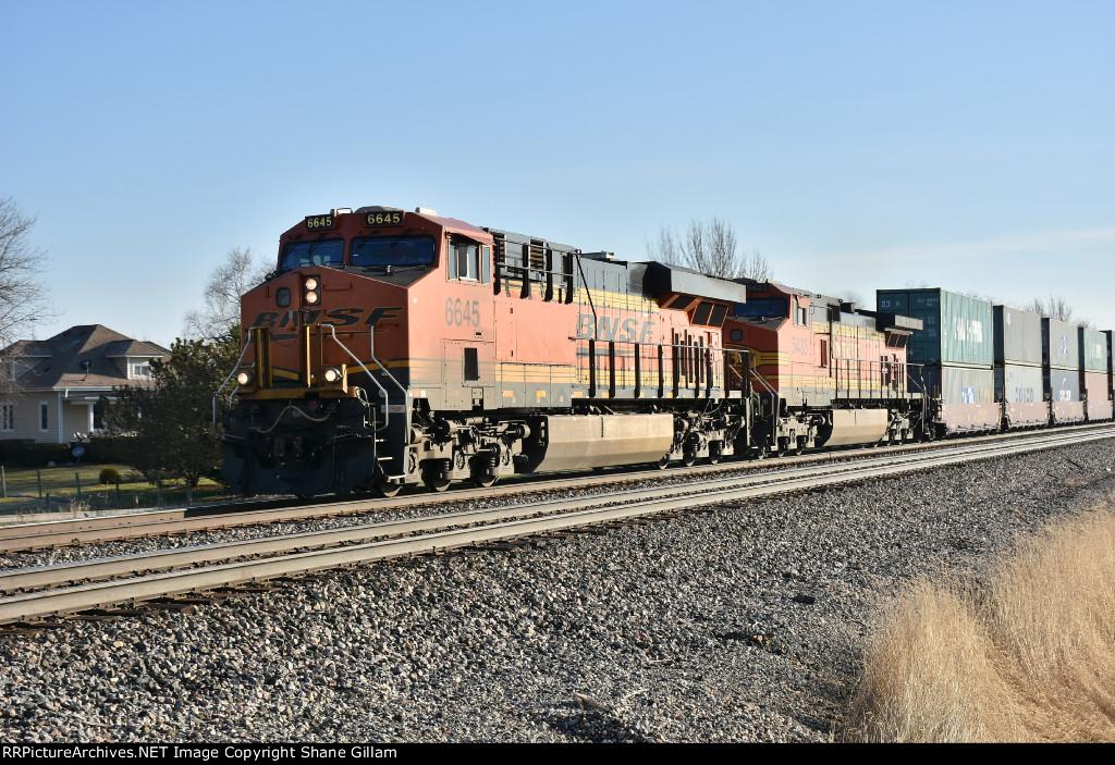 BNSF 6645