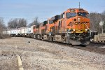 BNSF 8183 leads a Z train down the Chilli sub toward Chicago.