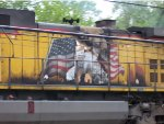 UP 6145 needs that Flag repainted!!!!!