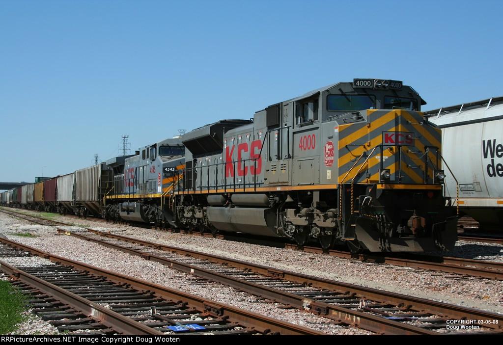 KCS Loaded Grain Train