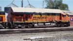 BNSF 5906 after the accident.....