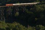 Superdome, NSRX 53, leaves Lynchburg on Regional train 176 on May 9.