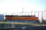 Side Shot of The Newest Tier 4 Locomotive BNSF 3744 as She waits to be Delivered to the BNSF  Railway.