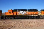 BNSF 199 - vandalized