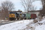 D906 winds its way through the curves as it rolls west through Sunnyside