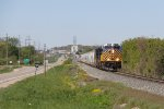 Over 9000 feet of Q326 rolls east through the sag at Vriesland