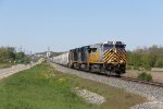 CREX 1525 and two CSX Dash-8's head east on the Grand Rapids Sub with Q326