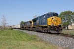 CSX 3427 leads two more GE's east with Q326