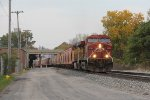 GE's from CP & UP lead the potash loads of K862 east