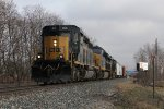 4075 rolls D707 west with two extra units that were left at Ensel