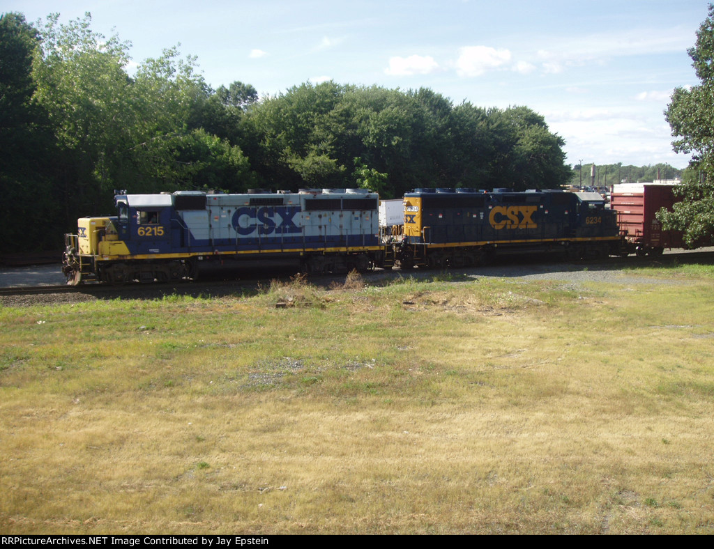 A couple of Geeps switch the North Yard