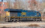 CSX 3260 moves light through East Brookfield