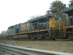 CSX 5325 leads a light engine movement east