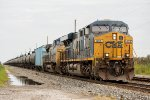 The first of three consecutive ethanol trains on two different railroads