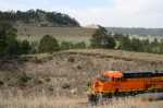 BNSF 5929 is headed for a meet