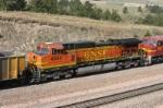 BNSF 4854 is DPU