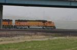 BNSF 9896 sneaks by