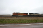 BNSF 8978 sits with other MAC's waiting to be DPU on eastbounds