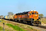 BNSF 2564 and 2005