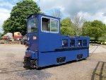 Hunslet Diesel Loco Peter Wood used on construction of London Underground Jubilee Line Extension