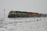 BNSF 9730 heads to Donkey Creek JCT
