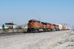 BNSF 4409 Leads the Z-SPDWSP Up The Grade towards Cajon Pass with A Very ,Very, Very Brand New Tier 4  BNSF 3732 as the #3 unit in the Locomotive Consist.