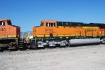 BNSF 3732 catching Her Crew Cab and the BNSF Swoosh Logo on the Left Side of this Brand New Tier 4 ET44C4.