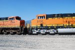 BNSF 3732 rolls past Me as She Climbs towards Cajon Pass.