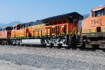 BNSF 3732 Close Up Shot as She Passes Me By Heading Toward My Son Who is Waiting For Her At BNSF BARSTOW were She would arrive in 2 Hours at 1820 pm/PDT.