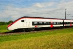 Rollout of Swiss EC250 high speed - low floor train