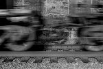 Blur of a train