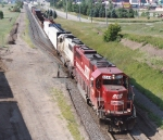 60s leading a freight