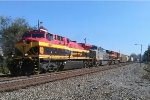 NS 173 with all KCS power