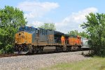 CSX 3269 leaves Fauna siding