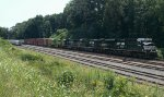 NS 153 with NS/Illinois Terminal SD70ACe #1072 trailing 4th