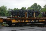 Running gear / truck / bogie again on NS train 098.  1067mm gauge