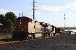 SB BNSF manifest w/ GECX trailing