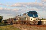 Amtrak #1 w/ 184 trailing