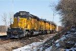 Shoving coal loads east