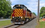 SWP SD40-2 #3505 and, trailer was SWP SD40-2 #3502