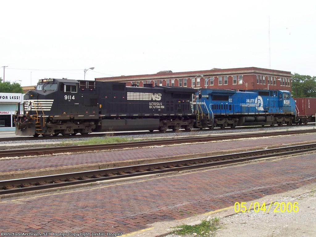 NS 9114 & NS 8412